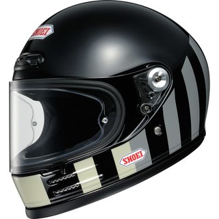 Shoei Glamster Resurrection Retro-Helm TC-5 schwarz grau...
