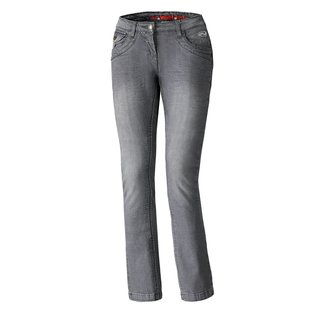 Held Crane Damen Motorrad Stretch-Jeans anthrazit