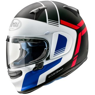 Arai Profile-V Tube Helm Red Matt mattweiss blau rot