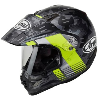 Arai Tour-X4 Cover Enduro-Helm Fluor Yellow Matt neongelb...
