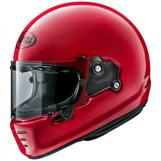 Arai Concept-X Helm Einfarbig Sports Red rot