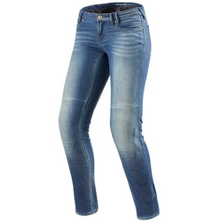Revit Westwood Ladies SF Damen Jeans hell blau used look