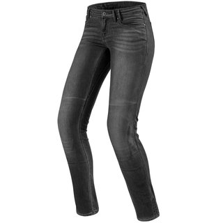 Revit Westwood Ladies SF Damen Jeans dunkel grau used look