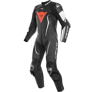 Dainese Misano 2 D-Air Perf. 1Pc Airbag-Kombi schwarz weiss