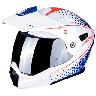 Scorpion ADX-1 Horizon Enduro-Helm weiss rot blau