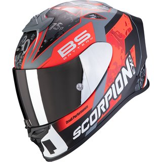 Scorpion Exo-R1 Air Fabio Replica Helm neonrot grau