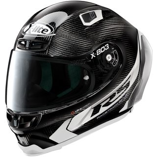X-Lite X-803 RS Ultra Carbon Hot Lap Helm weiss Carbon