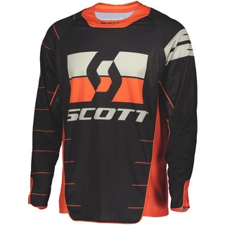 Scott Enduro Jersey Motocross-Hemd schwarz orange