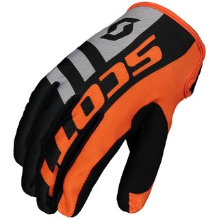 Scott 350 Dirt Cross-Handschuh schwarz rot grau