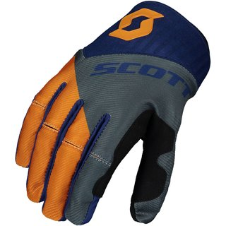 Scott 450 Angled Cross-Handschuh blau orange