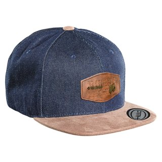 Held Cap 46 Base Cap blau-braun