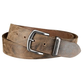 Held Belt Men Leder-Gürtel braun
