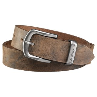 Held Belt Women Damen Leder-Gürtel braun
