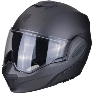 Scorpion Exo-Tech Klapp-Helm Einfarbig anthrazit grau