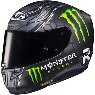 HJC Rpha 11 Crutchlow Replica Black MC5SF Helm matt grau...