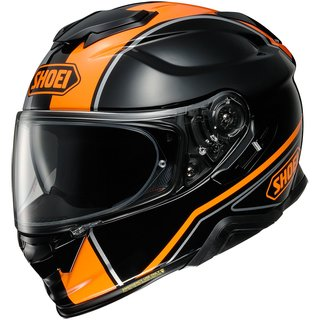 Shoei GT-Air II Panorama Helm TC-8 orange schwarz