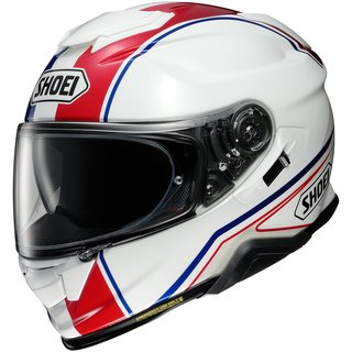 Shoei GT-Air II Panorama Helm TC-10 blau rot weiss