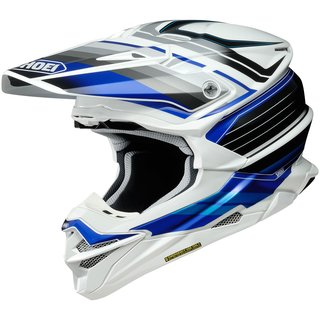 Shoei VFX-WR Pinnacle Crosshelm TC-2 blau weiss schwarz