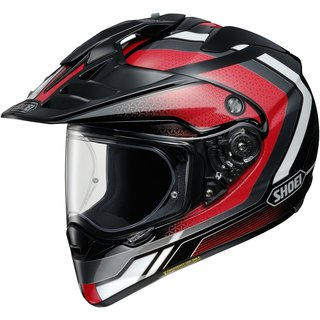 Shoei Hornet ADV Sovereign Helm TC-1 rot schwarz