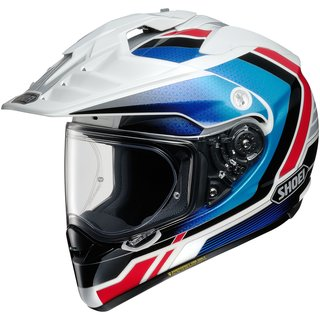 Shoei Hornet ADV Sovereign Helm TC-10 blau rot weiss