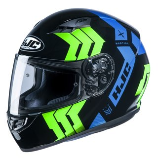 HJC CS-15 Martial Helm MC24 blau gelb