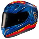 HJC Rpha 11 Superman DC Comics MC21 Helm blau rot gelb