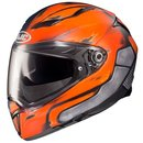 HJC F70 Deathstroke DC Comics MC27SF Helm mattblau orange