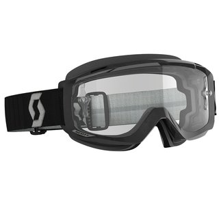 Scott Split OTG schwarz grau Cross-Brille