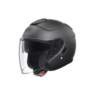 Shoei J-Cruise Matt Deep Grey Jethelm grau matt