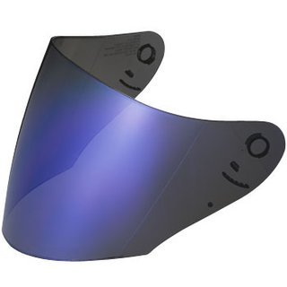 Shoei CJ-1 Visier blau verspiegelt