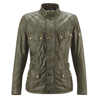 Belstaff Crosby Jacket Man Wachsjacke british racing grün