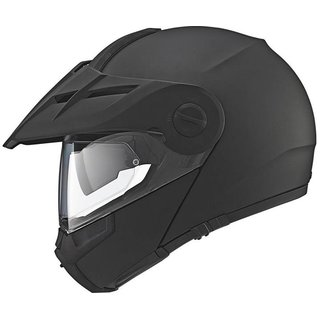 Schuberth E1 Matt Black Endurohelm matt-schwarz