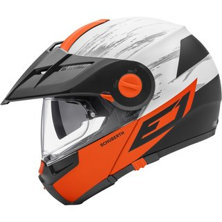 Schuberth E1 Endurohelm Crossfire orange