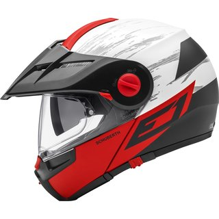 Schuberth E1 Endurohelm Crossfire rot