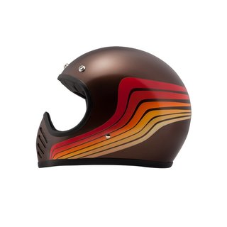 DMD SeventyFive Waves Carbon Kevlar Helm