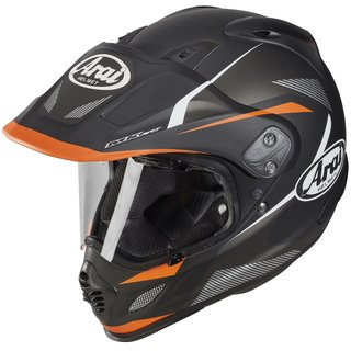 Arai Tour-X4 Break Enduro-Helm Orange mattschwarz