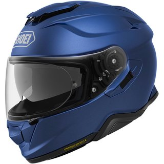 Shoei GT-Air II Helm Einfarbig Matt Blue Metallic matt blau