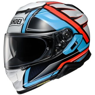 Shoei GT-Air II Haste Helm TC-2 blau orange