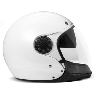 DMD ASR Motorrad Systemhelm Pearl White weiss